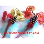 Feather Earring Jewelry