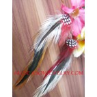 Handmade Feather Dangle