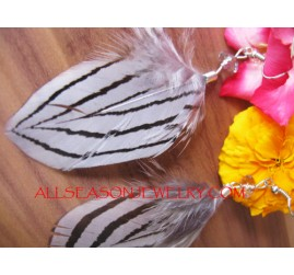 Handmade Painted Feather