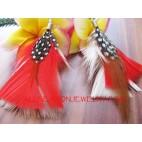 Feather Fashion Earring Drop