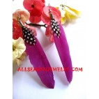Jewelry Feather Earring
