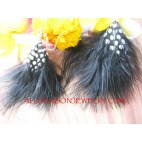 Bali Feather Earrings