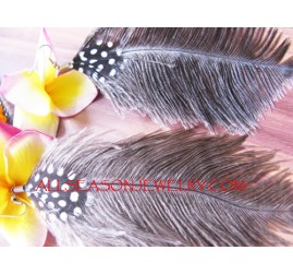 Ethnic Feather Fashion Ear