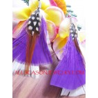 Women Feather Earring
