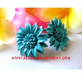 Leather Earrings Jewelry
