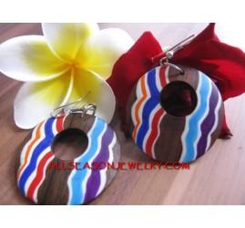 Primitif Wood Earrings
