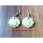 Small Carving Earrings
