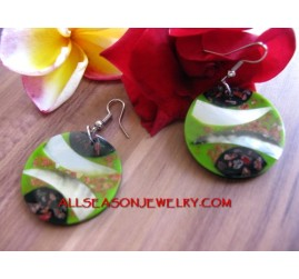 Resin Earring Shell