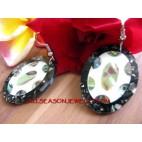 Earring Resin Seashells