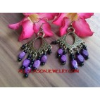 Caual Fashion Earrings Bead