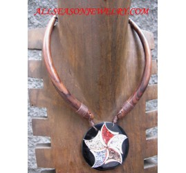 Ladies Wood Necklaces