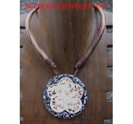Women Wood Necklaces