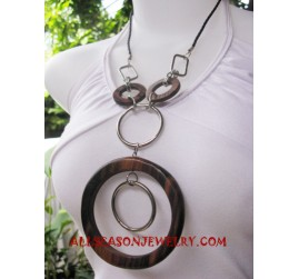 Wooden Stainless Necklaces