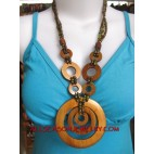 Wooden with Bead neck