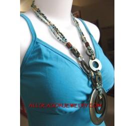 Necklace Wooden Pendant