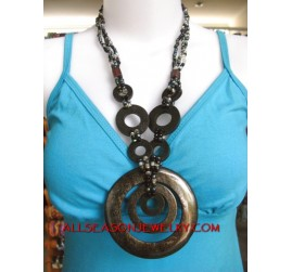 Exotic Wooden Necklaces