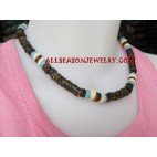 Bali Wood Necklaces