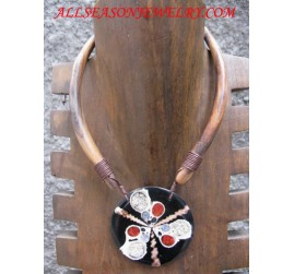 Wood Necklace Jewelry