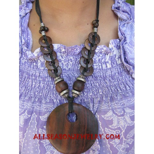 Coconut Wooden Necklace