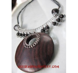 Fashion Necklace Wooden