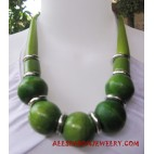 Fashion Wood Necklace
