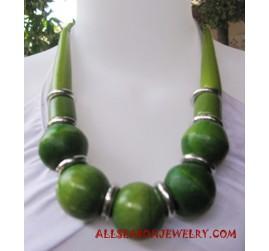 Fashion Wood Necklace