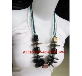 Fashion Wooden Necklace