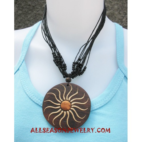 Fashion Wooden Necklaces