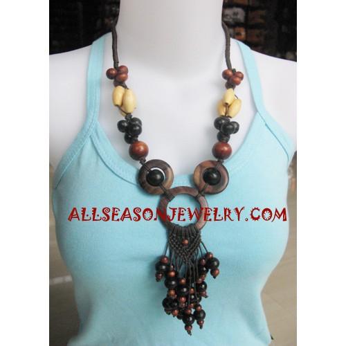 Fashion Woods Necklaces