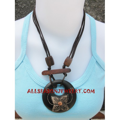 Handmade Necklace Woods