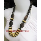 Handmade Necklaces Wooden