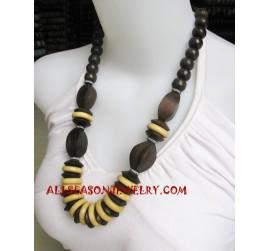 Handmade Necklaces Wooden