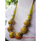 Mango Wood Necklace