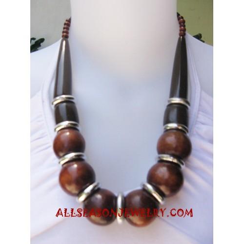 Mango Wooden Necklace