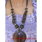 Natural Sono Wood Necklaces