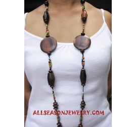 Natural Woods Necklaces