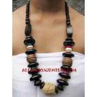 Necklace Sono Wooden