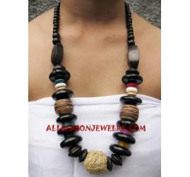 Necklace Sono Wooden