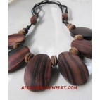 Necklace Wood Handmade