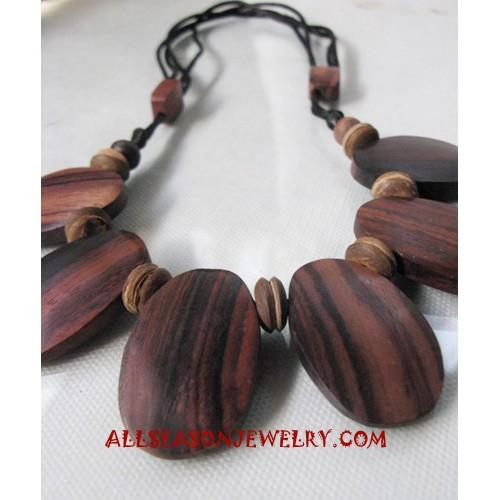 Necklace Wood Handmade
