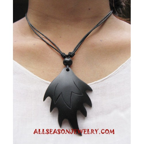 Necklace Wooden Carving