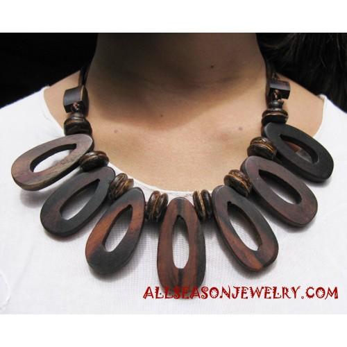 Necklace Wooden Handmade
