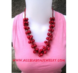Necklace Woods Colored