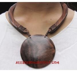 Necklace Woods Handmade