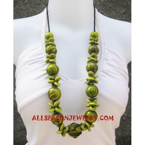 Necklaces Wood Handmade