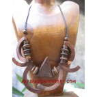 Necklaces Wooden Natural