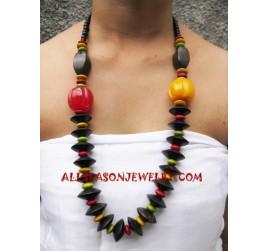 Necklaces Wooden Sono