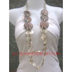 Seashell Timber Necklace