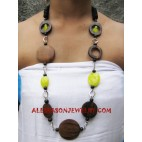Sono Wood Necklaces