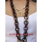Sono Wooden Necklace